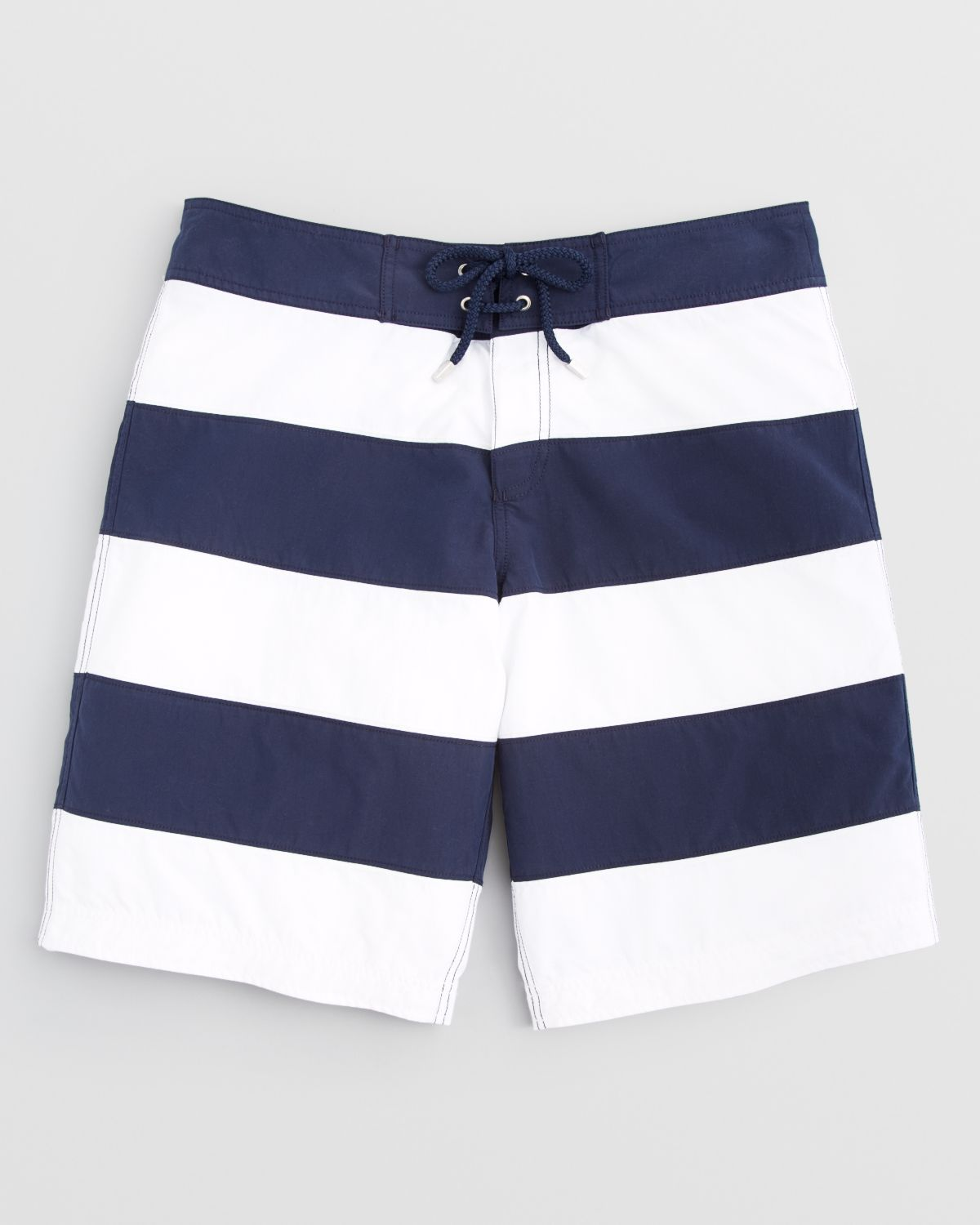 Vilebrequin Octant Stripe Board Shorts In White For Men Lyst