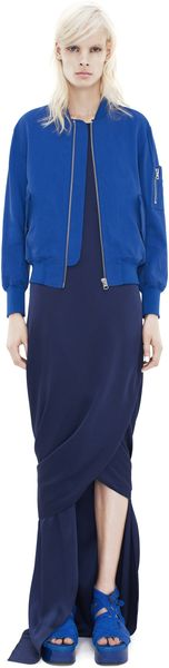 Acne Encore Structure Bomber Jacket - Lyst