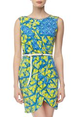 Alberto Makali Sleeveless Sarong Dress - Lyst