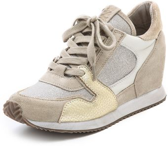 Ash Dean Wedge Sneakers - Lyst