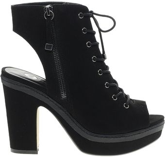Asos River Island Nat Lace Up Through Platform Shoes - Lyst
