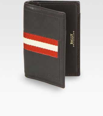 Bally Striped Business Card Holder - Lyst