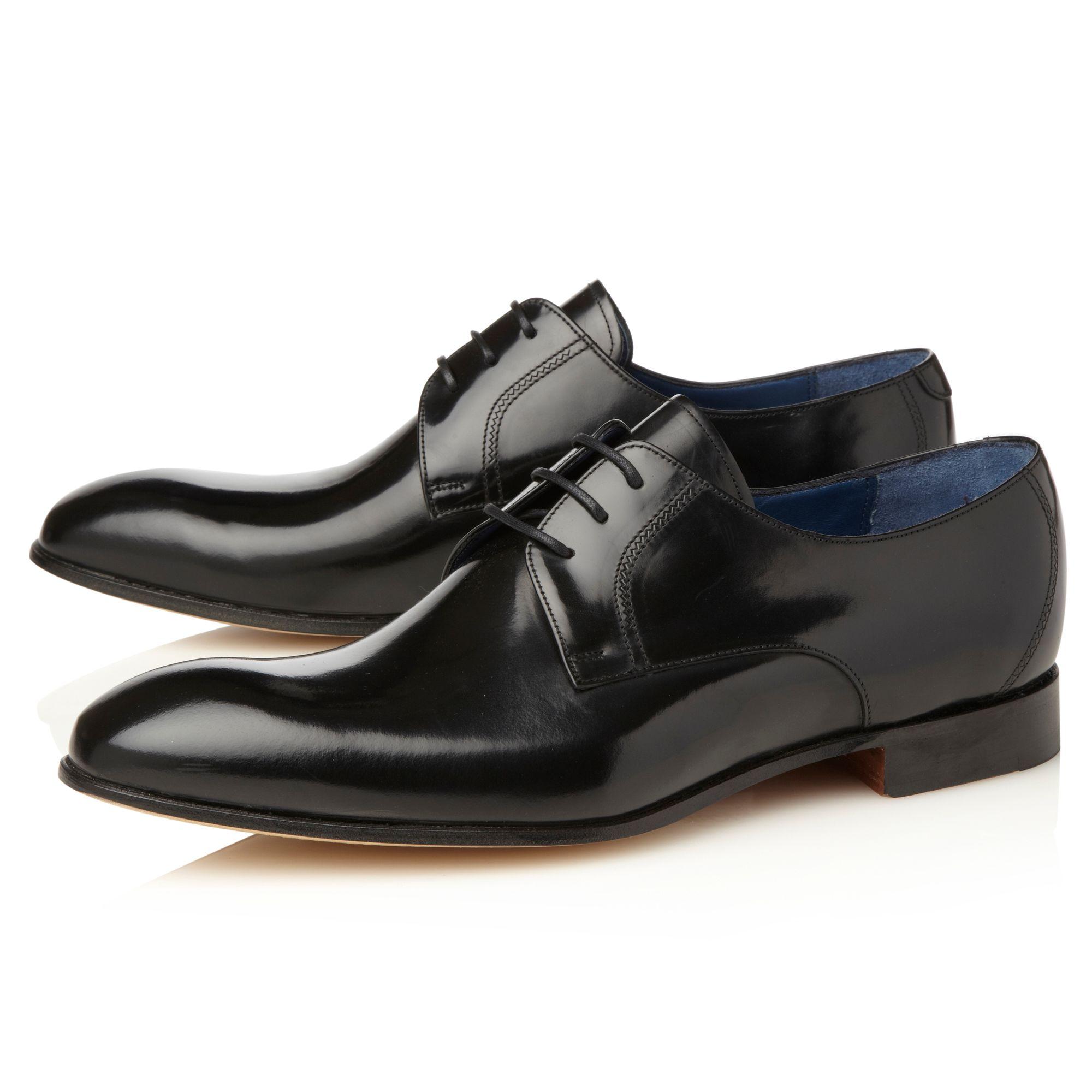 barker rutherford hi shine formal shoes in black for