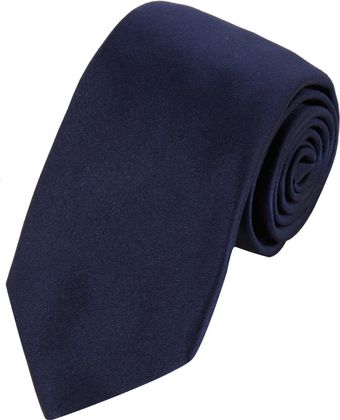 Barneys New York Solid Satin Neck Tie - Lyst