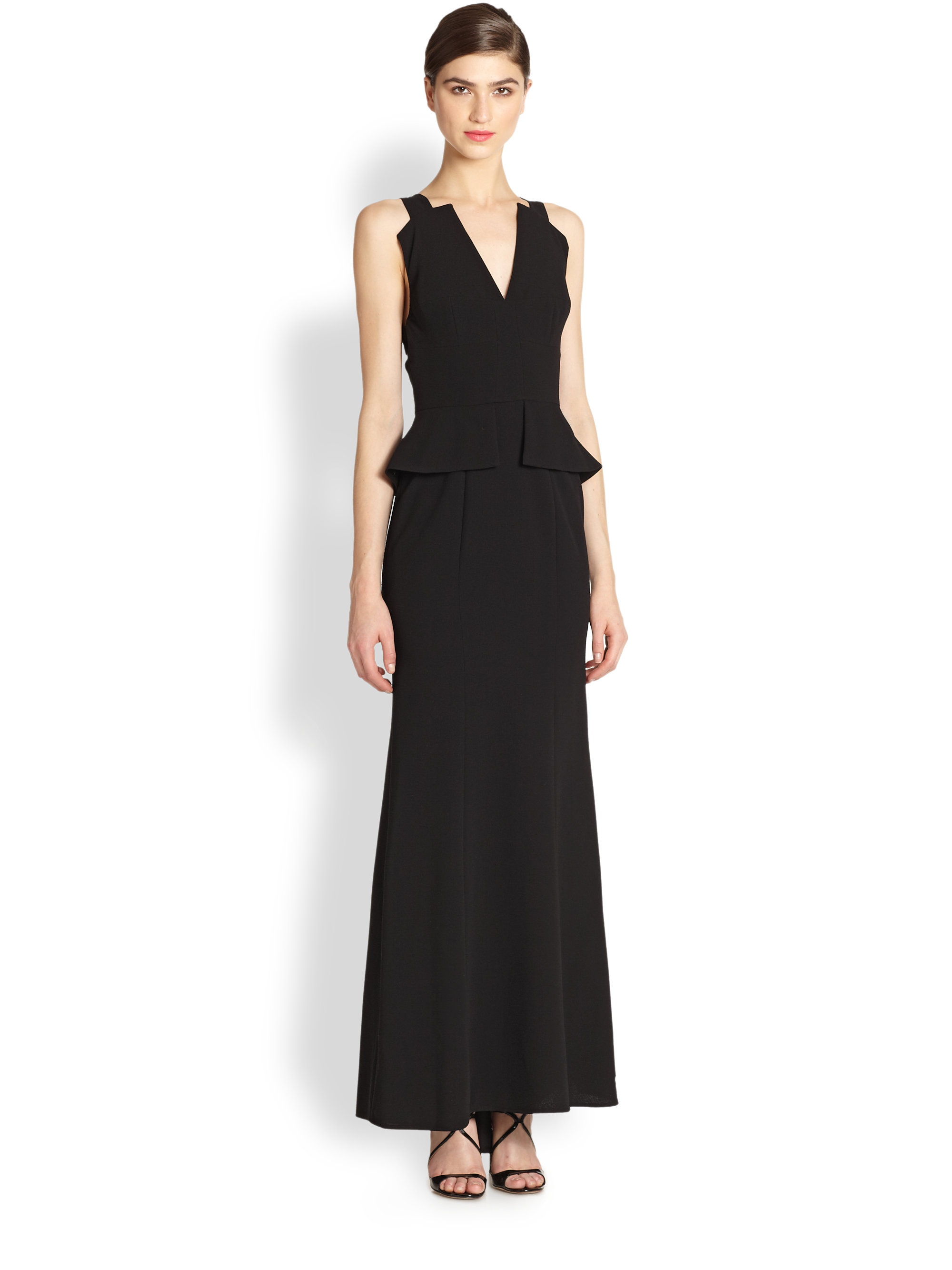 Bcbg maxi dress black
