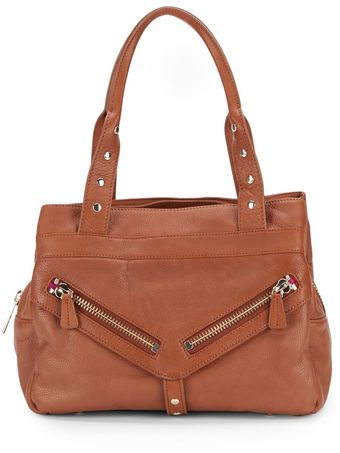 Botkier Trigger Medium Leather Satchel - Lyst