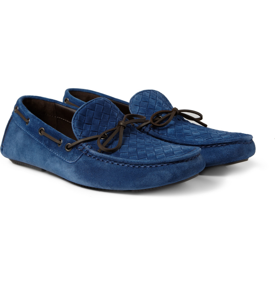 Bottega Veneta Mens Slip On Shoes