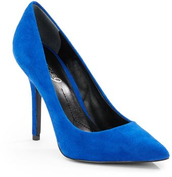 Boutique 9 Mykola Suede Point toe Pumps - Lyst