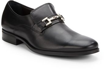 Bruno Magli Gupper Leather Loafers - Lyst