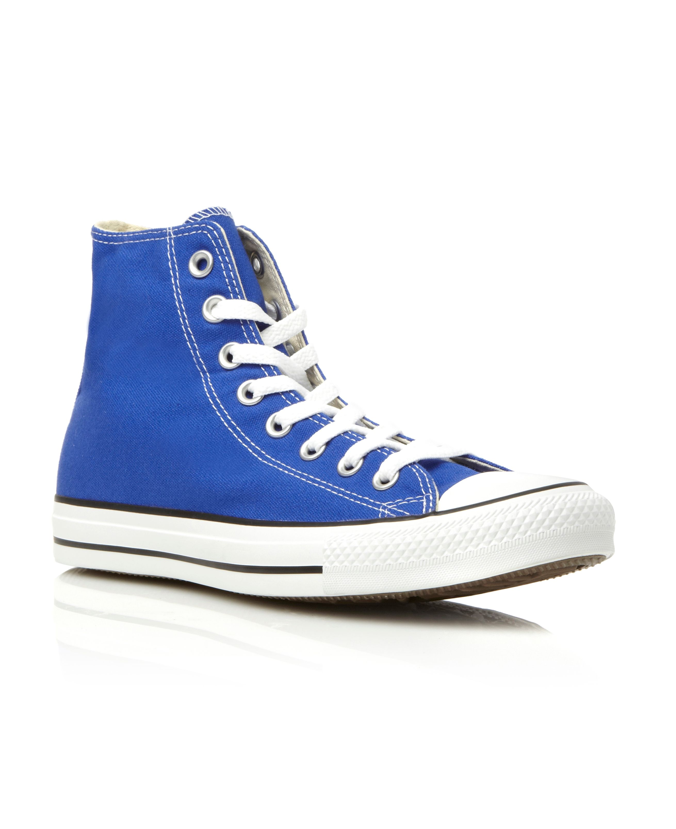 Converse Ctas Hi Top High Top Trainers In Blue For Men Lyst