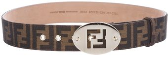 Fendi Logo Belt - Lyst