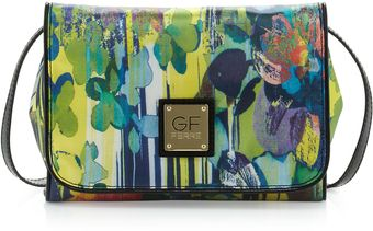 Gianfranco Ferré Printed Flap Crossbody Clutch Bag Multi - Lyst