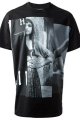 Givenchy Photo Tshirt - Lyst