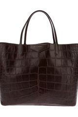 Givenchy Crocodile Effect Antigona Tote - Lyst
