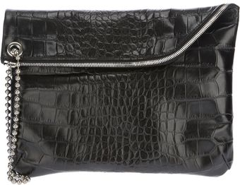 Golden Goose Deluxe Brand Crocodile Effect Clutch - Lyst