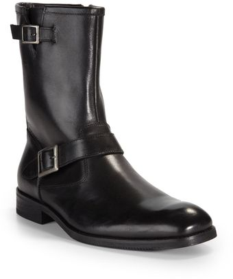 Gordon Rush Robertson Buckledetail Ankle Boots - Lyst