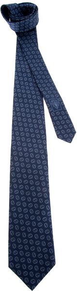 Gucci Patterned Tie - Lyst