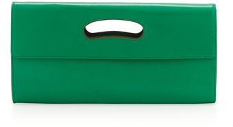 Hobo Katrina Cutout Handle Clutch Seaglass - Lyst