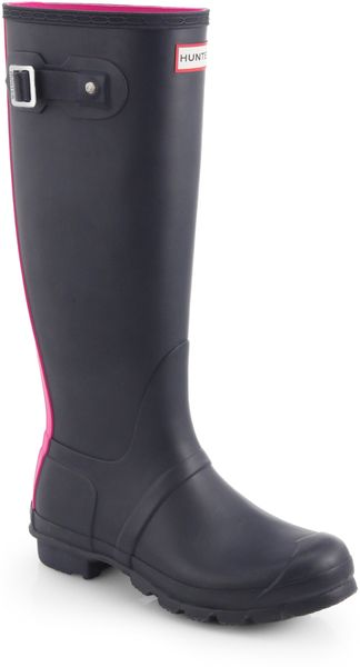 Hunter Original Bicolor Rubber Rain Boots - Lyst