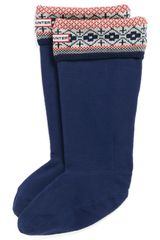 Hunter Fair Isle Welly Socks - Lyst