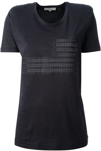 Iro Perforated T-shirt - Lyst