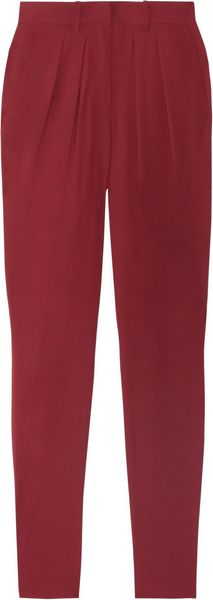 Isabel Marant Ricco Georgette Tapered Pants - Lyst