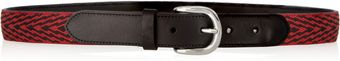 Isabel Marant Uston Embroidered Leather Belt - Lyst