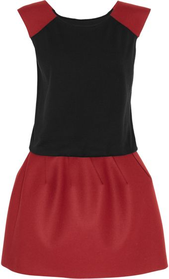 Jay Ahr Wool and Cashmere-blend Puffball Dress - Lyst