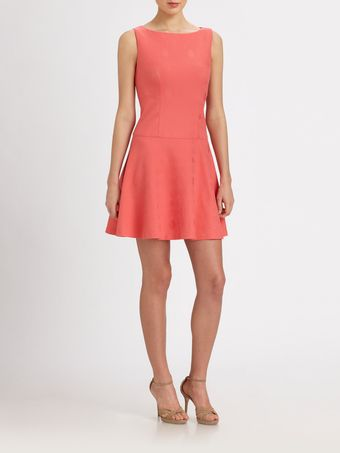 Kay Unger Fit And Flare Dress - Lyst