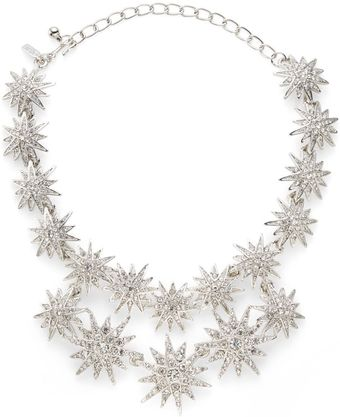 Kenneth Jay Lane Starburst Doublerow Necklace - Lyst