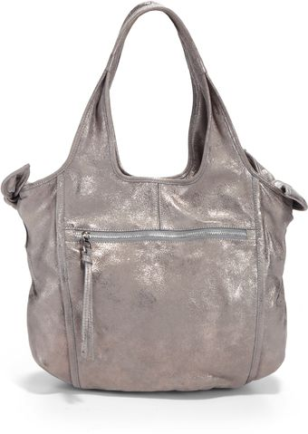 Kooba Carmine Metallic Leather Tote - Lyst