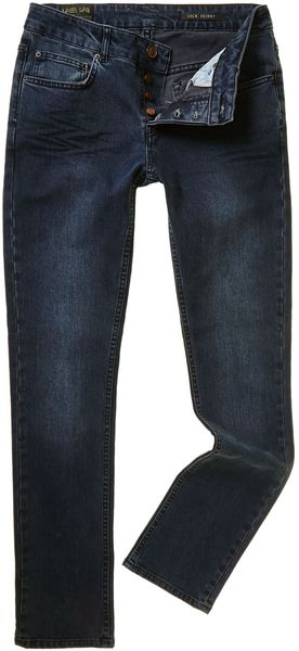 Label Lab Lock Skinny Leg Jean - Lyst