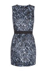 Markus Lupfer Sequin Print Vivian Dress - Lyst