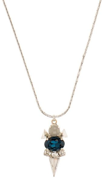 Martine Wester Moonlight Geometric Necklace - Lyst