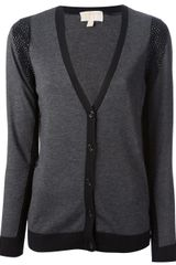 Michael by Michael Kors V-neck Cardigan - Lyst