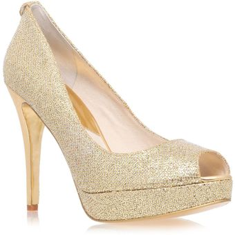Michael Kors York High Heeled Court Shoes - Lyst