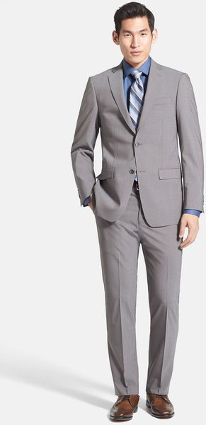 Michael Kors Trim Fit Stretch Wool Suit - Lyst
