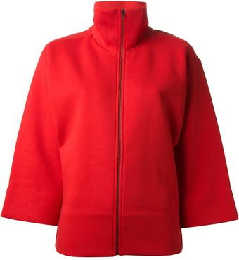Mm6 By Maison Martin Margiela Zip Front Jacket - Lyst