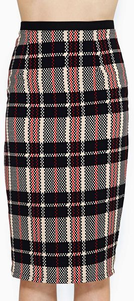 Nasty Gal Old School Midi Skirt - Lyst