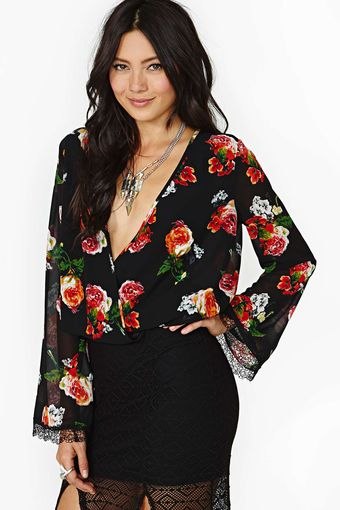 Nasty Gal Rock Bells Top - Lyst