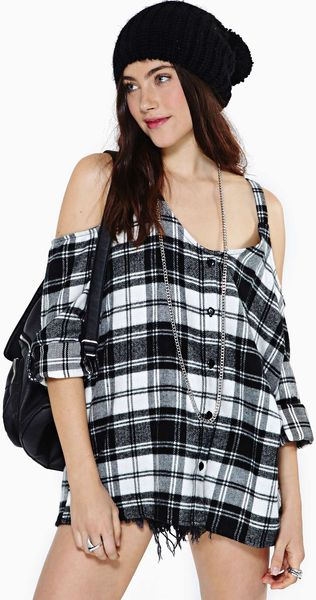Nasty Gal Read My Mind Top - Lyst