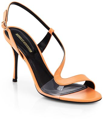 Nicholas Kirkwood Leather Slingback Sandals - Lyst