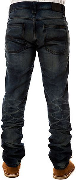 Nudie Jeans The Grim Tim Organic Double Trouble Denim - Lyst