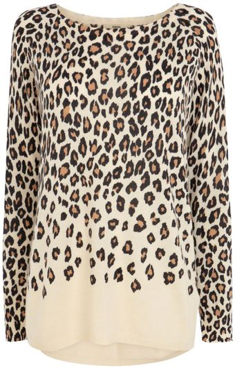 Oasis Ombre Animal Jumper - Lyst