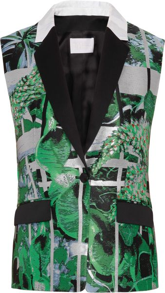 Peter Pilotto  Vest Sleeveless Printed Jacket - Lyst