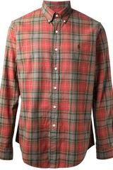 Polo Ralph Lauren Plaid Shirt - Lyst