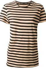 Proenza Schouler Striped T-shirt - Lyst