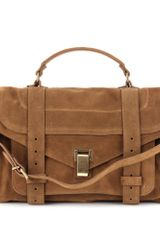 Proenza Schouler Ps1 Medium Suede Tote - Lyst