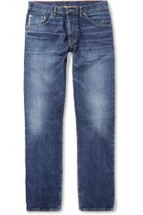 Raleigh Denim Jones Slimfit Washed Selvedge Denim Jeans - Lyst