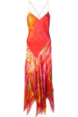 Ralph Lauren Blue Label Floral Maxi Dress - Lyst